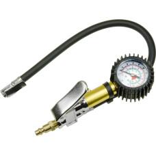 Professional Compressor Air Tire Inflator Deflator Dial Pressure Gauge