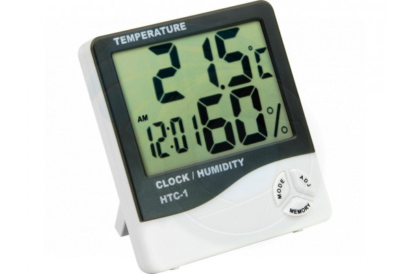 Digital Alarm Clock Thermometer Hygrometer Indoor Room Weather Station