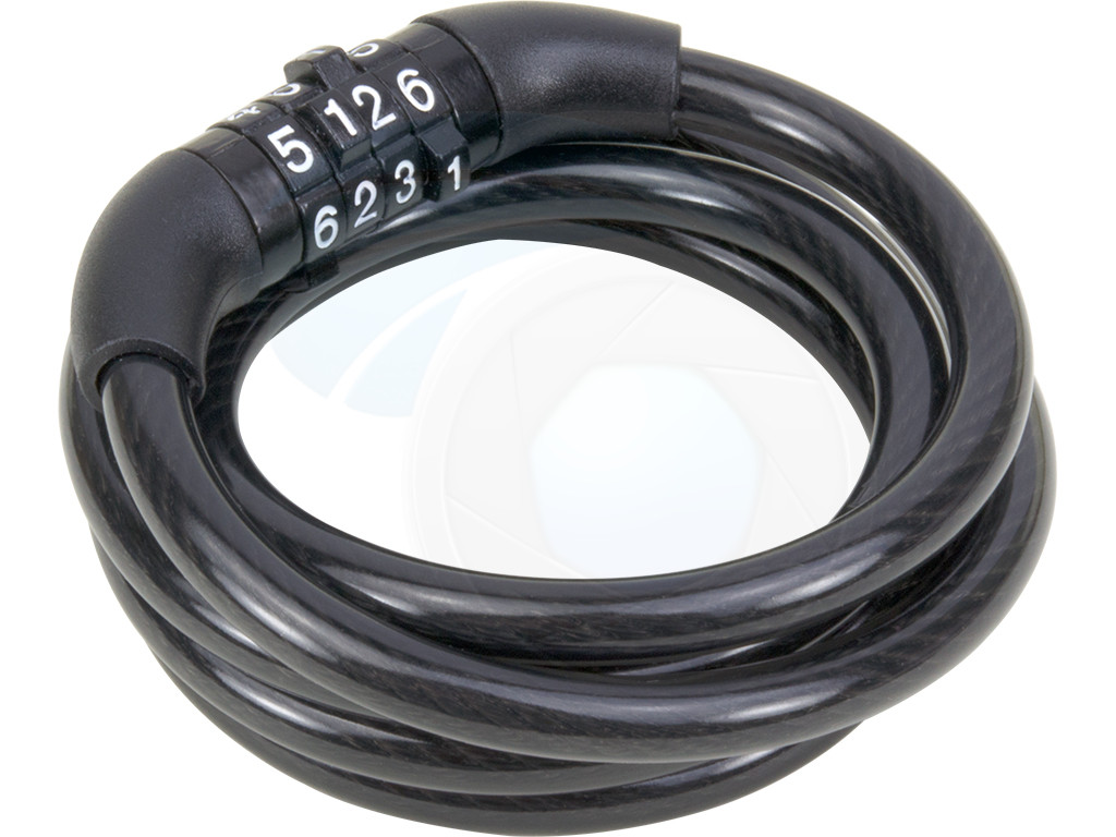 4 Digit Code Combination Bicycle Security Bike Lock Steel