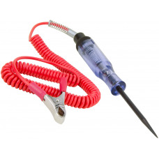 Heavy Duty DC 6-24 Voltage Electrical Circuit Tester Power Probe Pen