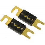2PCs 100AMP 100A Car ANL Glass Fuse For Car Audio Power Installation