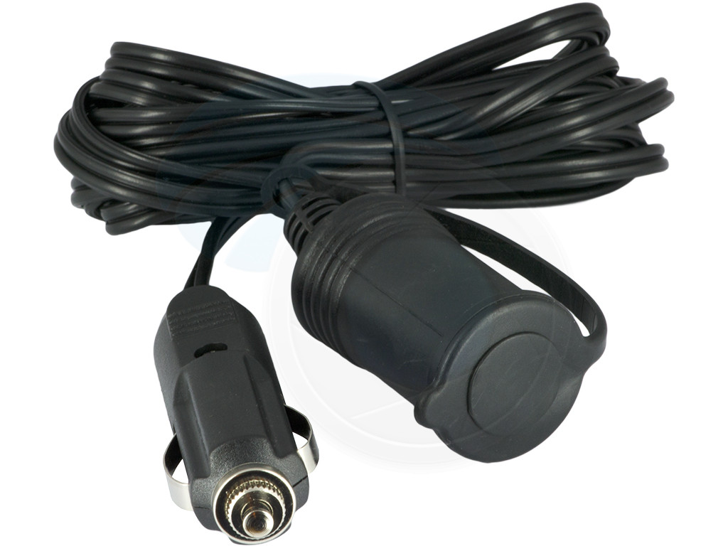 12v 24v Car Cigarette Lighter Plug Extension Cable Cord 5