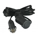 12v-24v Car Cigarette Lighter Plug Extension Cable Cord 3 Meters 10FT