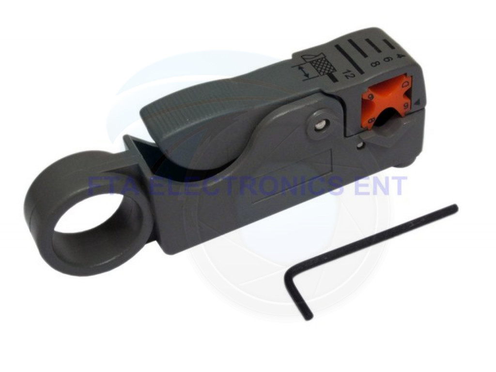Cable Cutter Stripper Stripping Tool Coax TV Satellite RG58 ...