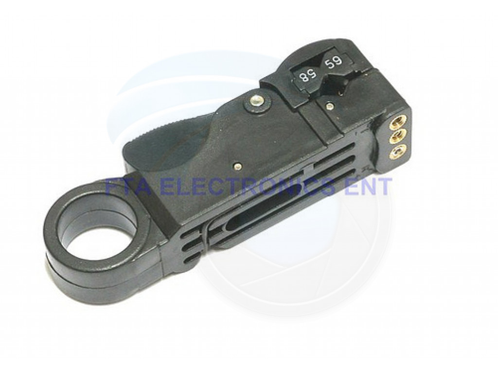 Cable Cutter Stripper Stripping Tool Coax Tv Satellite