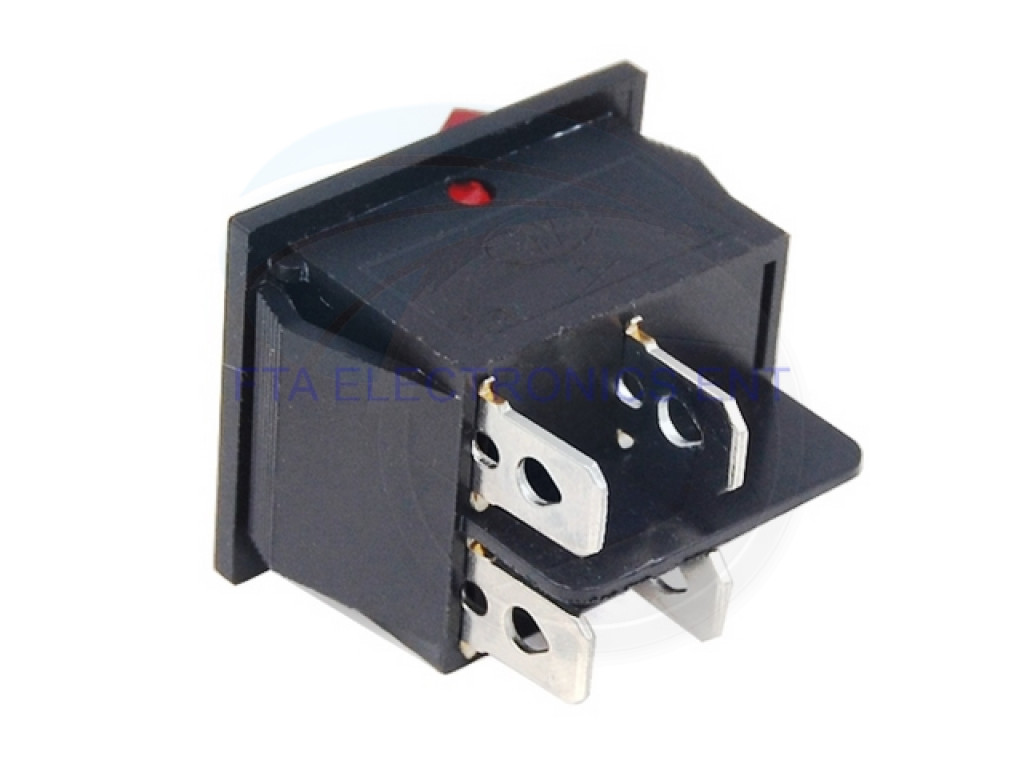 4 Pin Led Rocker Switch Wiring Diagram Prong For Treadmill Electrical Red Button On Off Dpst Boat 16a 250v Trailer Light Plug