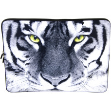 """Laptop Netbook Waterproof Sleeve Pouch Bag for 15""""-15.6"""" HP Dell Tiger"""