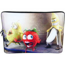 """Laptop Netbook Waterproof Sleeve Pouch Bag for 15""""-15.6"""" HP Dell Fruit"""
