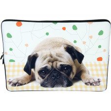 """Laptop Netbook Waterproof Sleeve Pouch Bag for 15""""-15.6"""" HP Dell Puppy"""