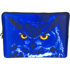 Laptop Netbook Waterproof Sleeve Bag for 15-15.6 HP Dell MacBook Owl