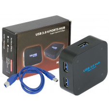 Super Speed 5Gbps USB 3.0 4 Ports Hub Individual Port Indicator LED