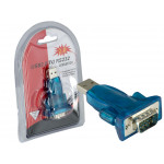 USB 2.0 to RS232 Converter Adapter Plug For PC Laptop Notebook RS-232