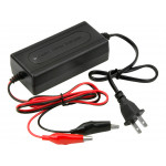 12V 2A Car Battery Lead Acid Battery Charger Tender Motorcycle ATV RV