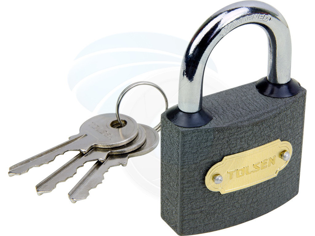 50mm heavy duty cast iron padlock outdoor safety security