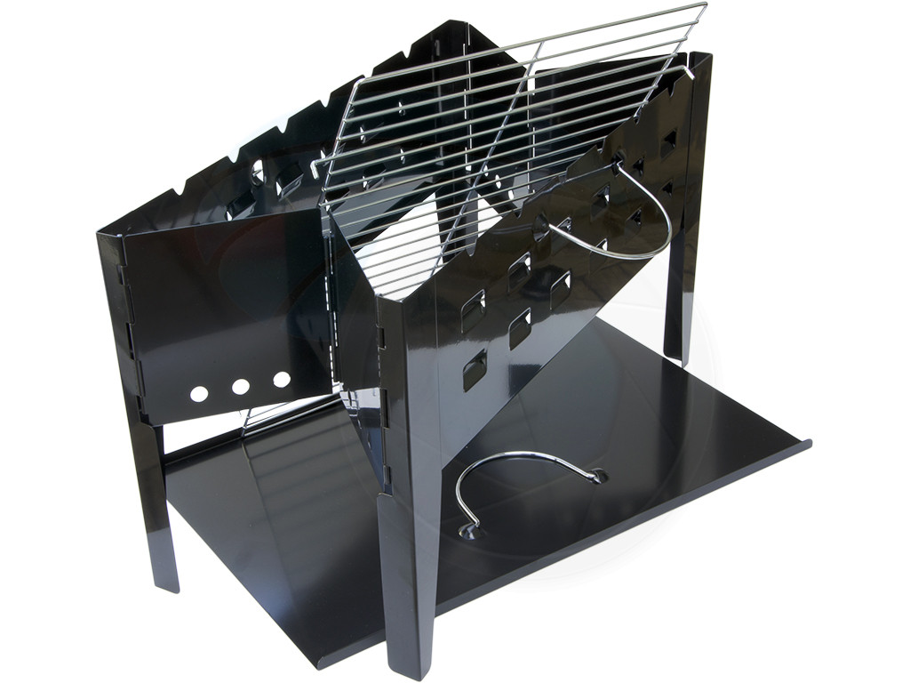 outdoors bbq portable charcoal kebab foldable portable grill barbecue. Black Bedroom Furniture Sets. Home Design Ideas