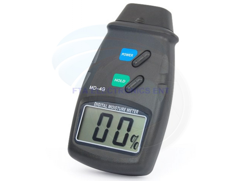 Digital Moisture Meter : Digital lcd moisture meter wall wood timber damp tester