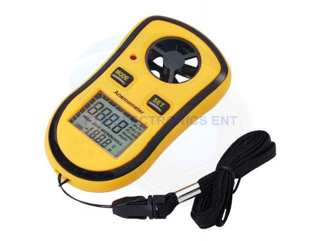 Electric Measuring Tools : Electric measuring devices lcd smart sport wind speed