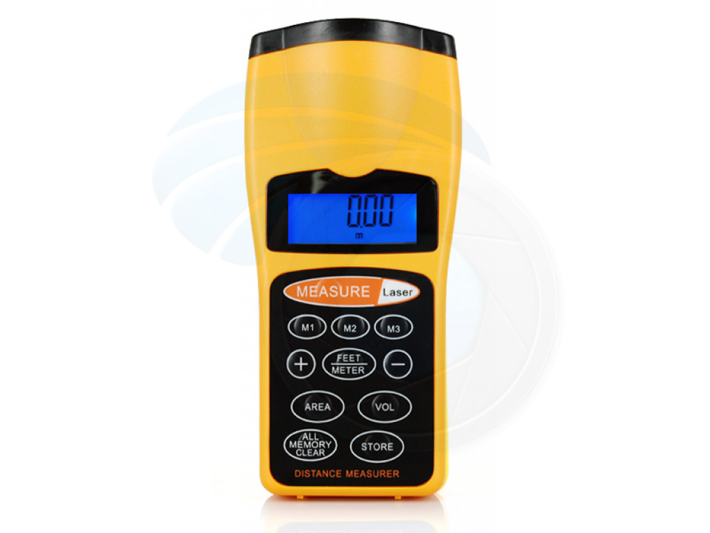 Electrical Measuring Devices : Ultrasonic handheld laser distance measurer measure