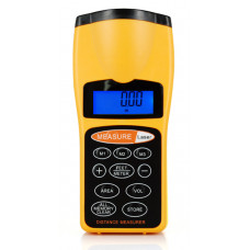 Ultrasonic Handheld Laser Distance Measurer Measure 18Meter 60FT Range