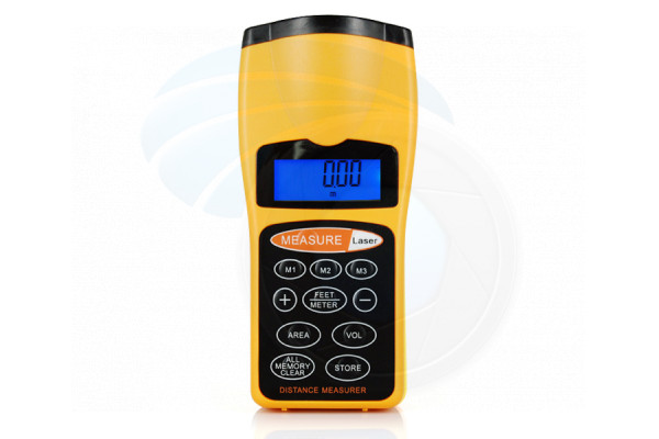 Ultrasonic Handheld Laser Distance Measurer Measure 18Meter 60FT Range
