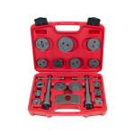 18pcs Caliper Tool Kit Case Wind Back Disc Brake Pad Piston Service
