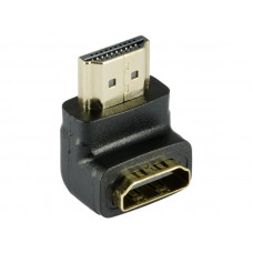 90 Degree HDMI Cable Female to A Male Gold Plated Down Angled Adapter