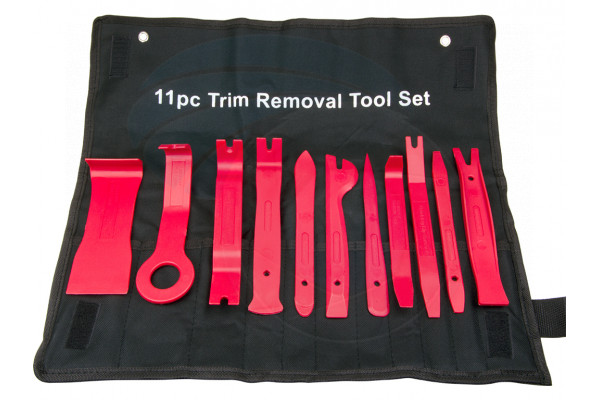 11pc Trim Removal Tool Set Door Panel Strips Dashboard Window Moldings