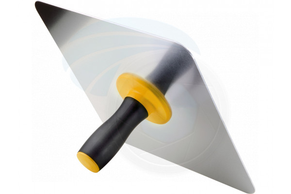 12inch Aluminum Drywall Filler Plaster Hawk Tool Soft Non-Slip Handle