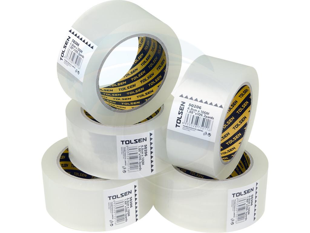 5 Rolls Shipping Sealing Box Carton Packing Packaging Tape
