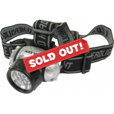 7 LED Headlamp with Adjustable Head Strap Work Head Light Flash Torch