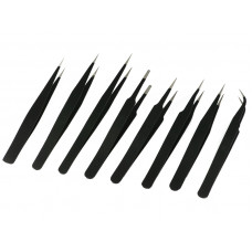 8pcs ESD Tweezers for Mobile Laptop Computer Electronics Repair Tools