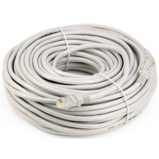 100Ft RJ-45 23AWG Cat-6 UTP Gigabit Ethernet Lan Network Gray Cable