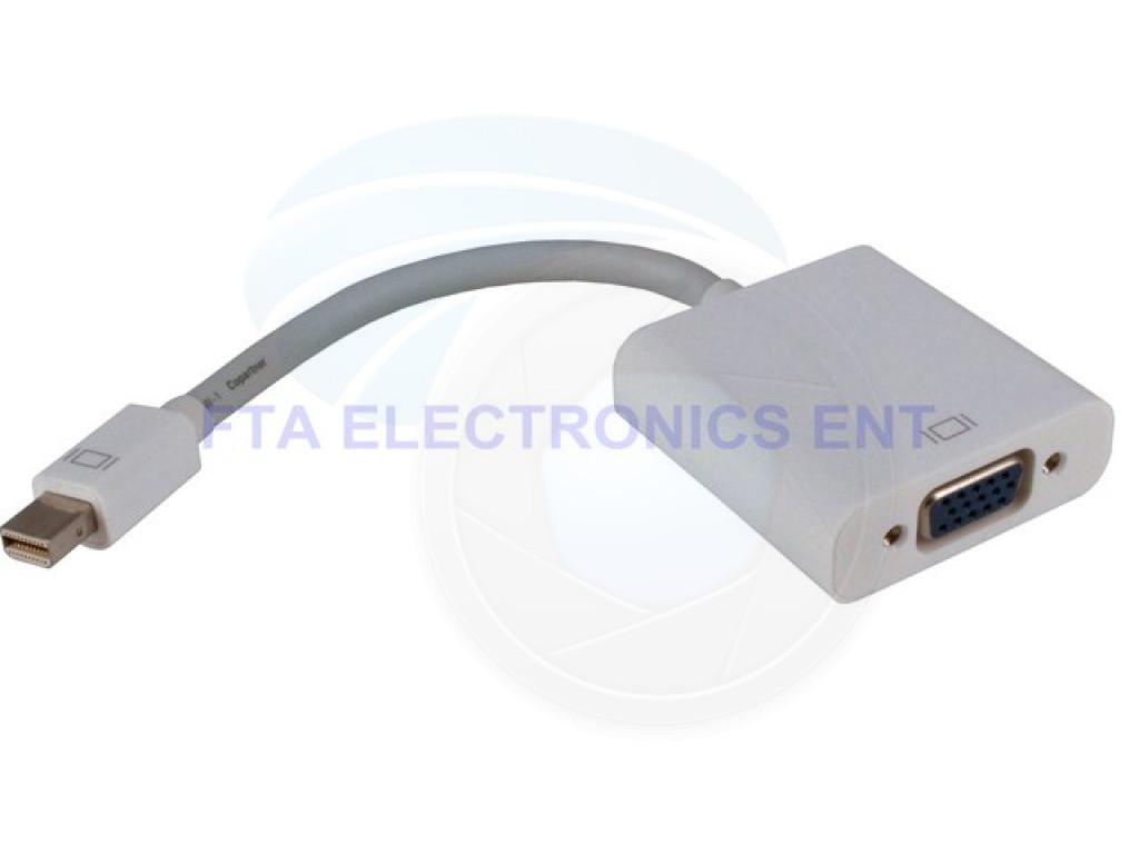 Mini Displayport To Vga Converter For Mac Imac And Macbook