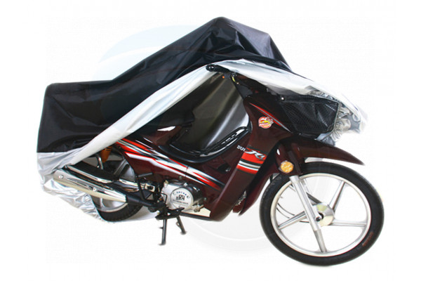 Weatherproof Motorcycle Bike Large Cover Protection Rain Dust UV Light