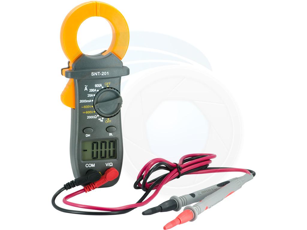 Clamp Multimeter Tester : Ac dc multimeter digital tester voltage clamp volt