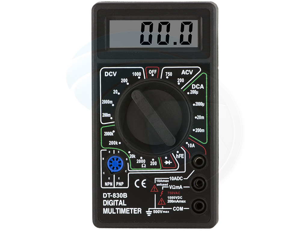 Ac Dc Digital Voltmeter Kit : Multimeters digital lcd display ac dc tester voltmeter