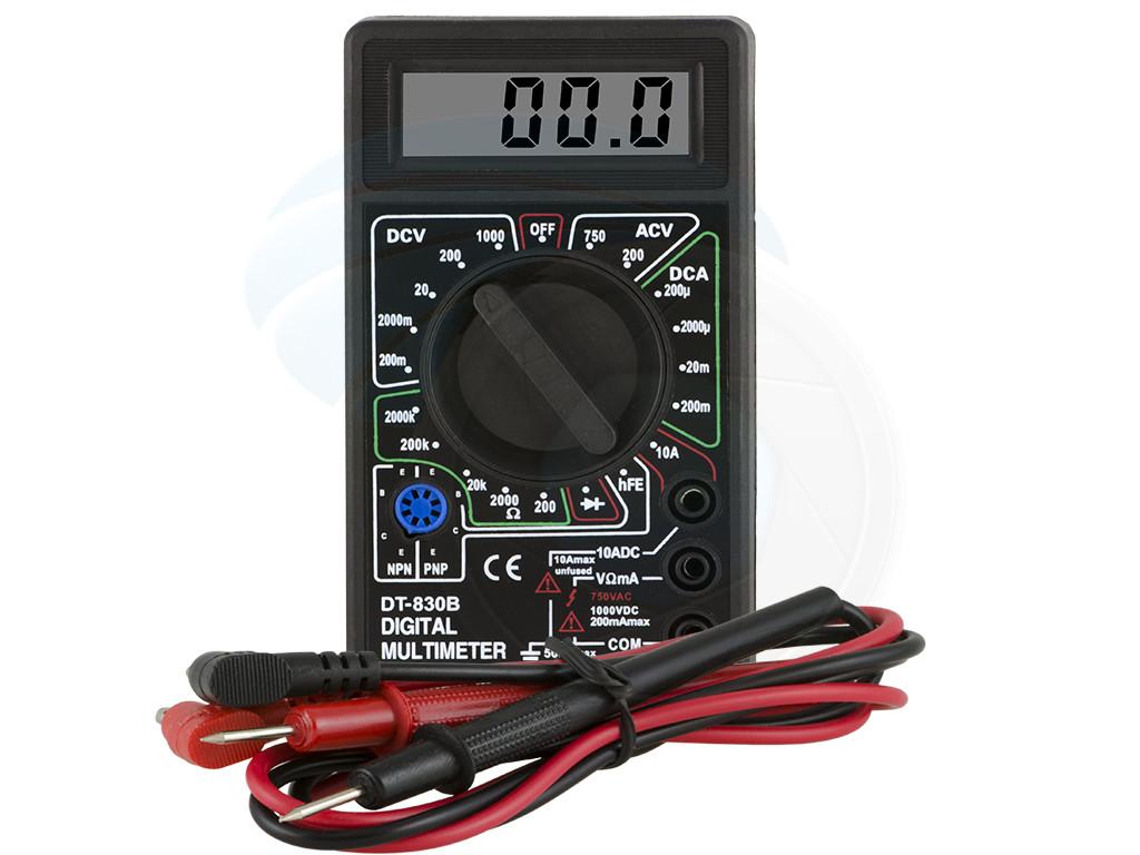 Digital Lcd Display Ac Dc Tester Voltmeter Ammeter Ohm Diod Multimeter Circuit Checker