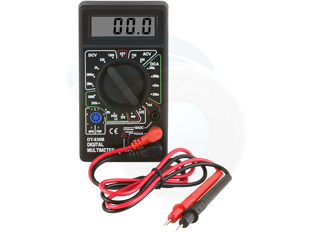 Ac Dc Digital Voltmeter Kit : Digital lcd display ac dc tester voltmeter ammeter ohm