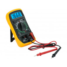 Digital LCD Multimeter Voltmeter Ohms Amps Voltage AC/DC Diod Backligh