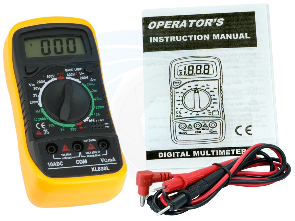 Ac Dc Digital Voltmeter Kit : Digital lcd multimeter voltmeter ohms amps voltage ac dc