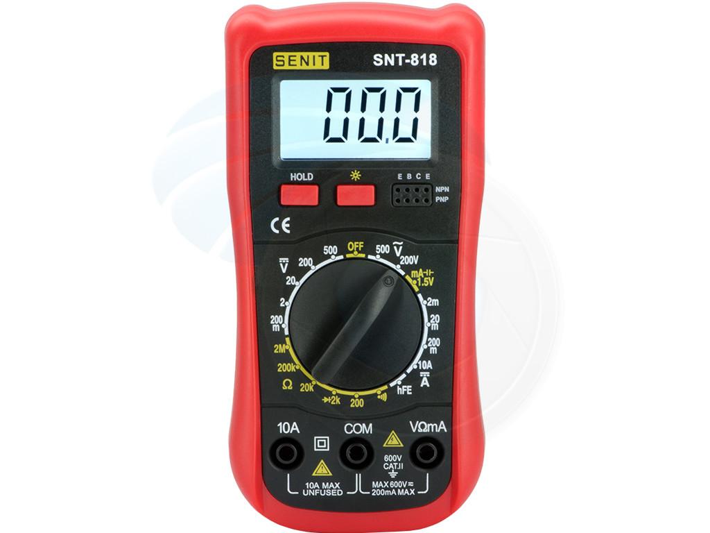 Use A Voltmeter : Handheld digital multi tester ammeter voltmeter resistance