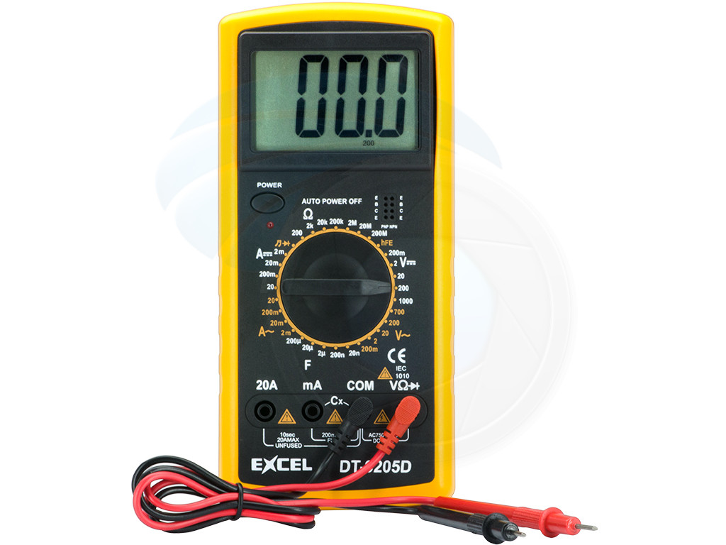 Professional Digital Multitester Ammeter Voltmeter