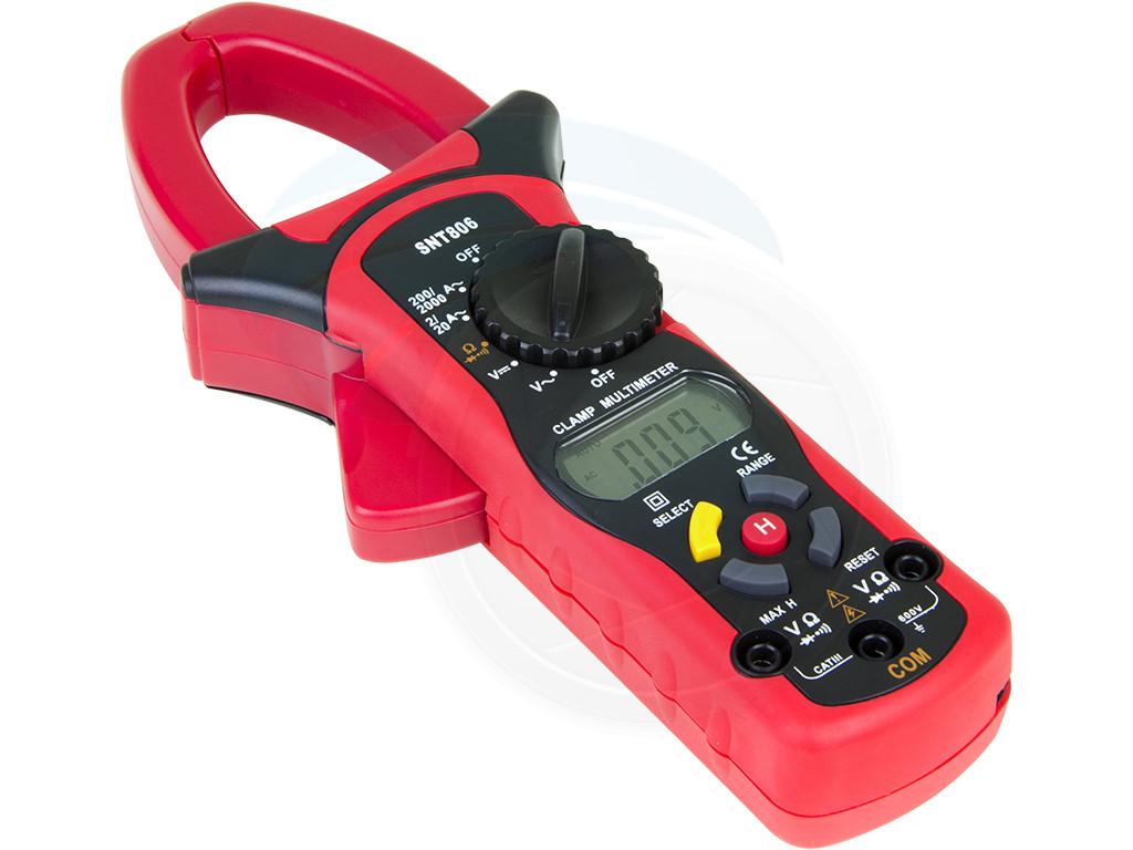 Clamp On Ammeter Dc : Snt clamp digital multimeter ac dc volt ohm ammeter