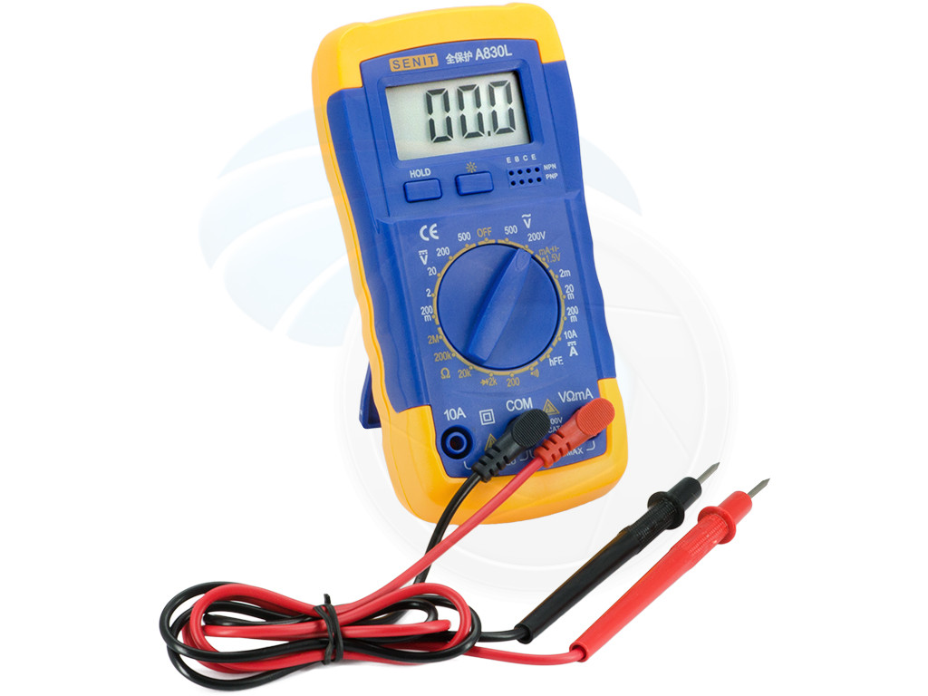 Ac Dc Digital Voltmeter Kit : Digital multitester ammeter voltmeter multimeter ac dc