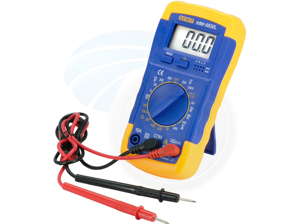 Intelligent Digital Ammeter Voltmeter : Multimeters digital multitester ammeter voltmeter