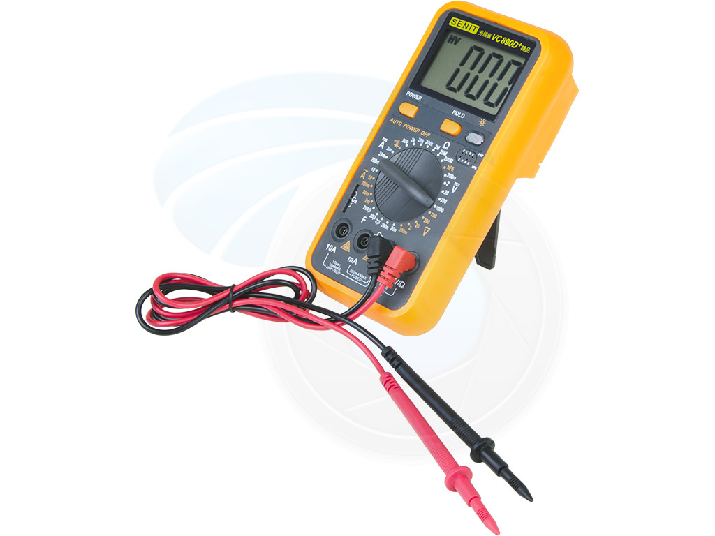 Check Ac Capacitor With Multimeter : Vc d digital multimeter acdc voltage current resistance
