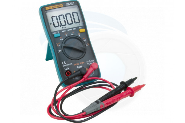 ZT102 Digital Multimeter 6000 Counts Backlight AC/DC Meter Voltmeter
