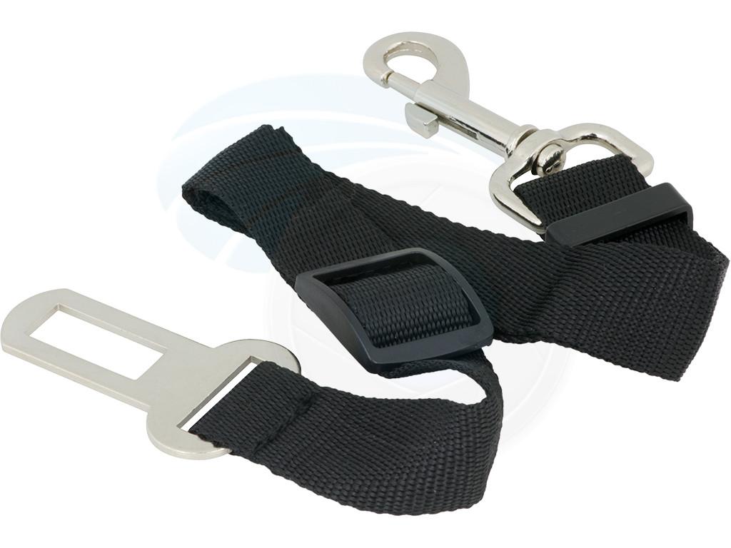 Adjustable Black Nylon Dog Pet Car Safety Seat Belt Harness ...