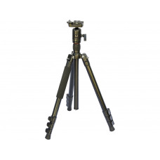 Professional Aluminum Full Size Photo Camera Tripod with Monopod BT258