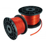 100FT 8GA 8AWG CCA Red Power Cable Wire Heat Resistance Car Audio Roll